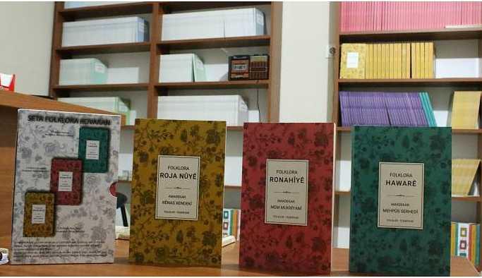 Hawar, Ronahî ve Roja Nû dergilerindeki folklorik yazılar derlendi
