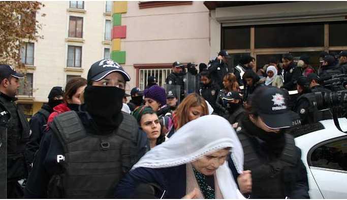 HDP Diyarbakır il binasına polis baskını: 25 gözaltı