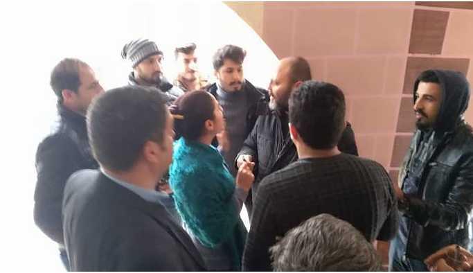 HDP İl Eşbaşkanı partisine girerken GBT'den geçirilmek istendi