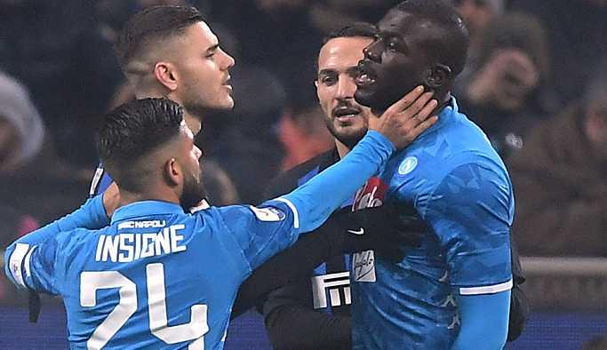 Inter'e ırkçı tezahürattan 2 maç seyircisiz oynama cezası