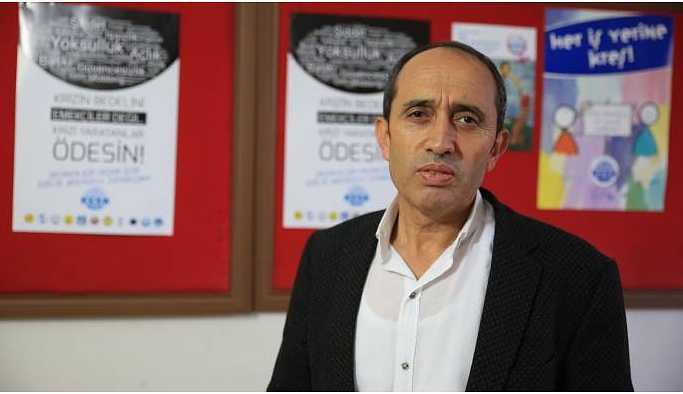 KESK Eş Başkanı Bozgeyik: Krizin faturası emekçilere kesilemez