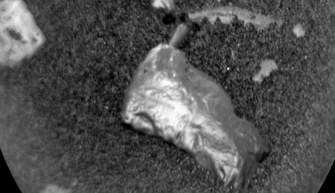 Mars'ta sıradışı parlak bir nesne bulundu
