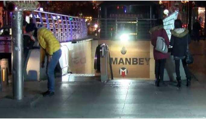 Metro raylarına atlayan kişi yaşamını yitirdi