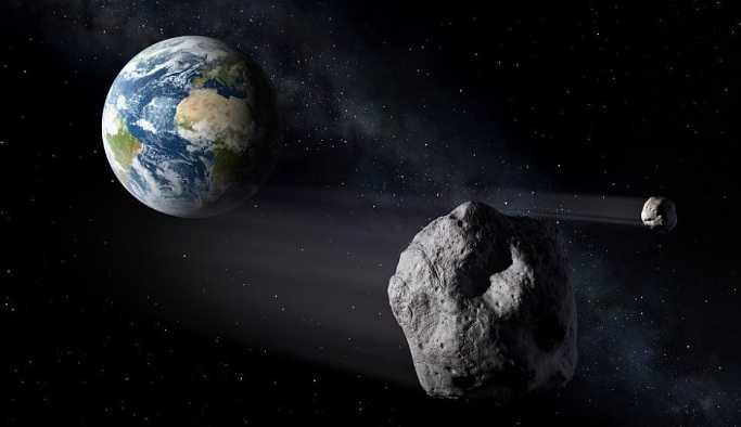 NASA, dünya için en tehlikeli asteroidi görüntüledi