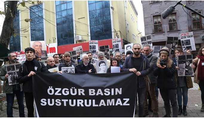 Özgür Ülke gazetesinin anması yapıldı: Bu gelenek devam edecek