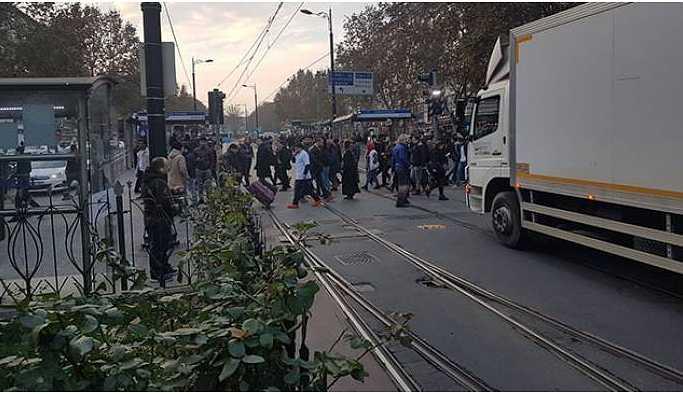 Ray arızası nedeniyle tramvay seferleri durdu