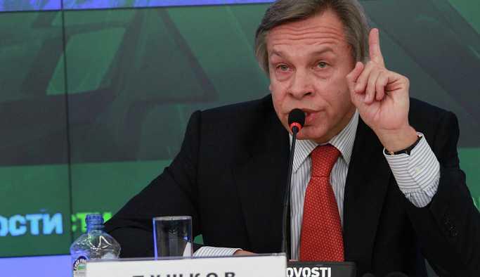 Rus senatör: Batı'da ne zaman bir sıkıntı olsa Rusya suçlanıyor