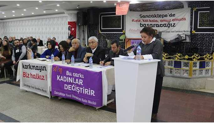 Sancaktepe Yerel Demokrasi Meclisi: Yeni dönemde adil bir hizmet istiyoruz