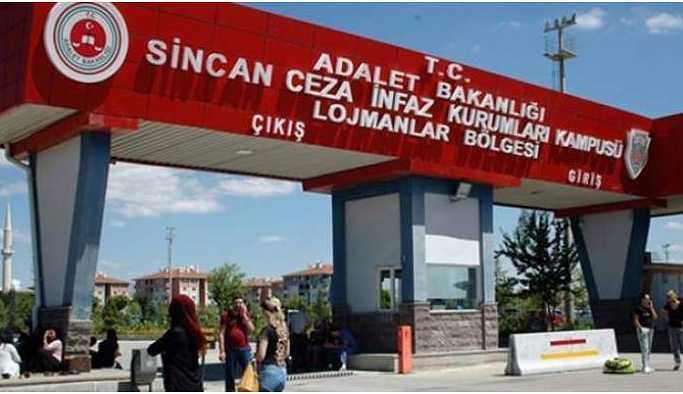 Sincan Cezaevi'ndeki kadın tutuklular koğuşları yaktı