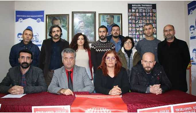 Şırnak'ta KESK'in bölge mitingi için çağrı