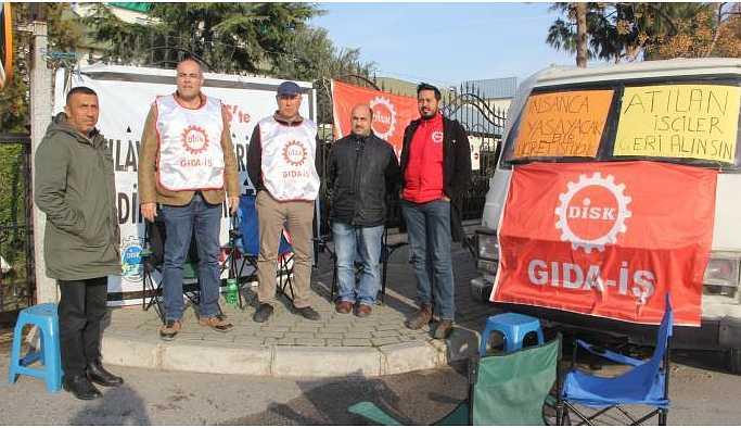TARİŞ işçileri: Yeni yıl direniş yılı olacak