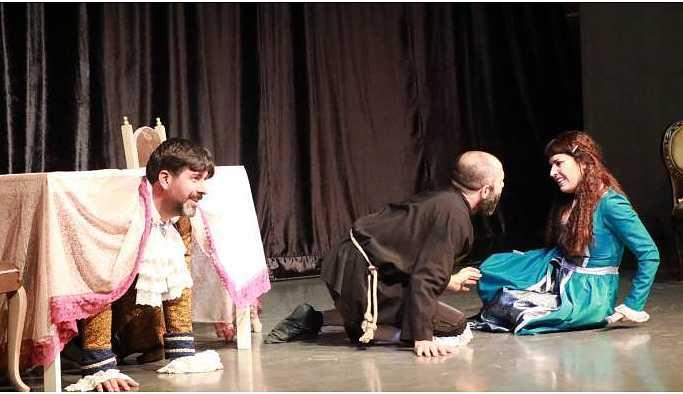 Tartuffe Ankara'da sahnelendi