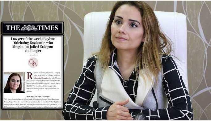 The Times Gazetesi Yalçındağ'ı haftanın avukatı seçti