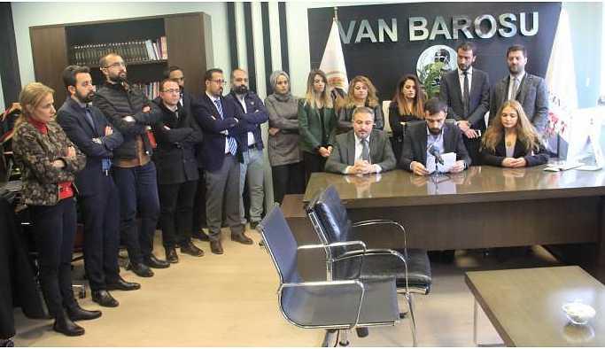 Van Barosu: Hak ihlallerinin takipçisi olacağız