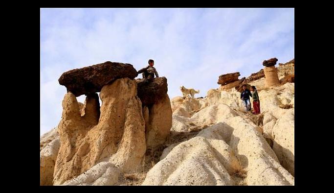 Van'ın 'Kapadokyası' Vanadokya ziyaretçi bekliyor