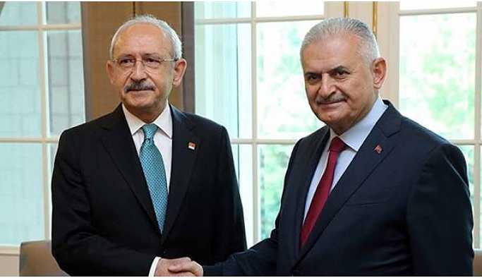 Yıldırım ile Kılıçdaroğlu görüşmesi sona erdi