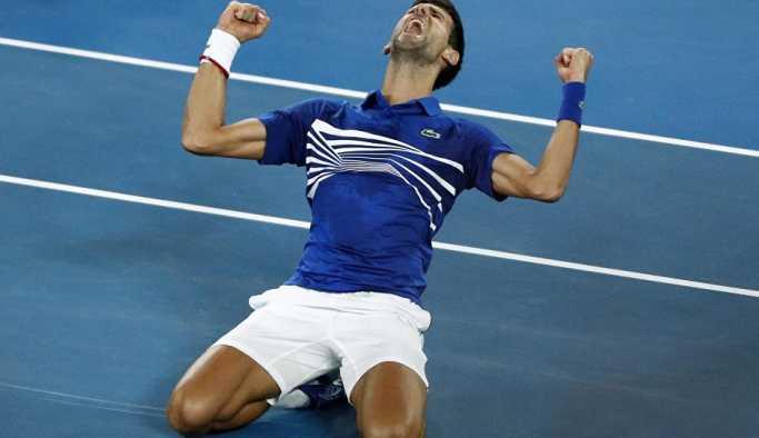 Avustralya Açık Tek Erkekler finalinde Djokovic, Nadal'ı yendi