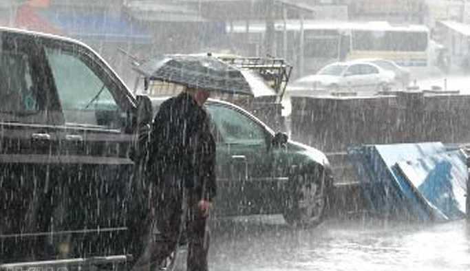 Bazı bölgelerde yağmur ve sağanak etkili olacak