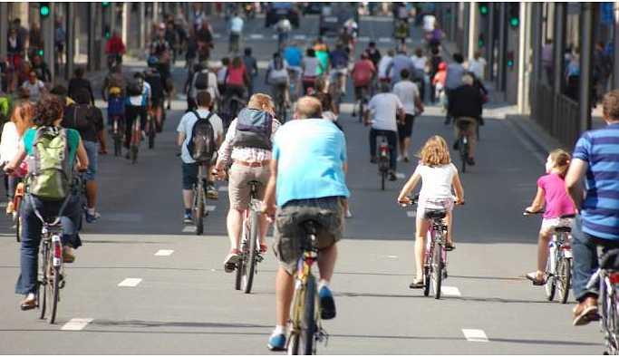 'Bisiklet kaosu ortadan kaldırır'
