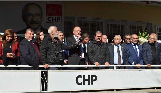 CHP Antep İl Örgütü'nde İYİ Parti tartışması devam ediyor