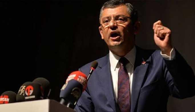 CHP'li Özel'den TBMM Başkanı Yıldırım hakkında soru önergesi