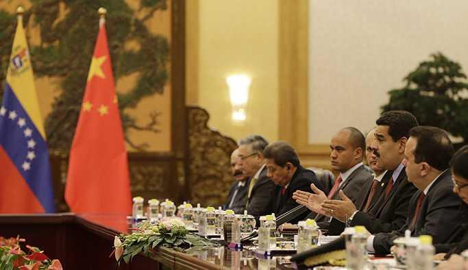 Çin'den Venezüella açıklaması: Dış müdahaleye karşıyız