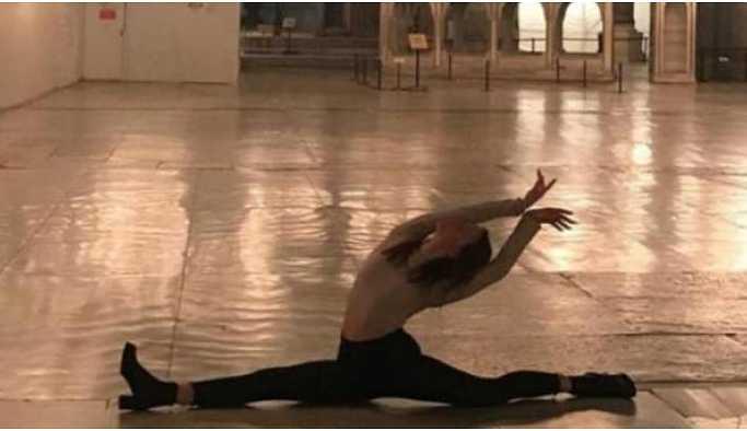 Dans fotoğrafı paylaşan Alaton hakkında inceleme başlatıldı