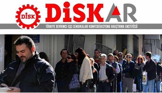 DİSK-AR: İşsiz sayısı 6 milyon 351 bine yükseldi