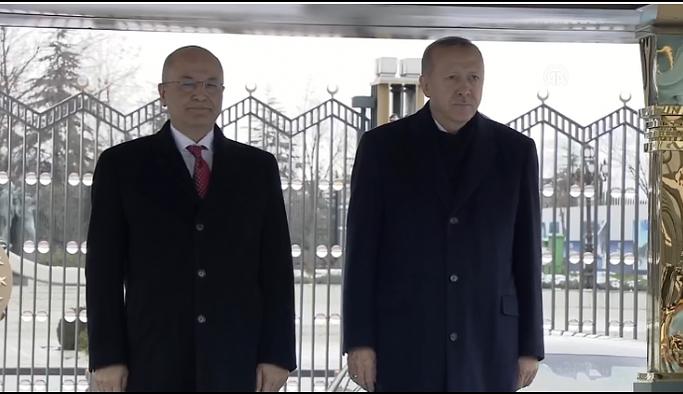 Erdoğan ve Salih'ten ortak açıklama