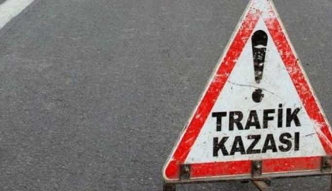 Erzurum'da 20 araç birbirine girdi