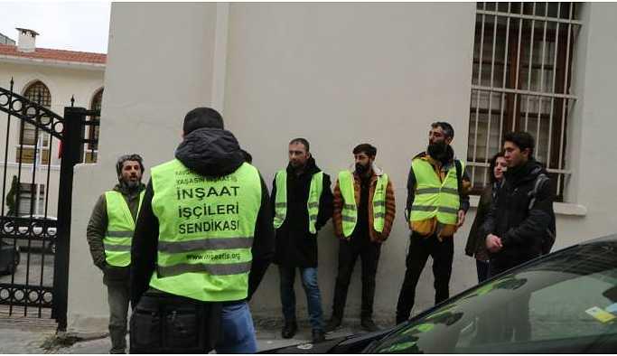 Eyleme geçen işçiler haklarını kazandı