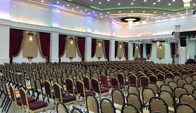 HDP adaylarının tanıtılacağı salona baskın