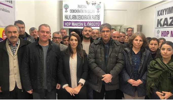 HDP'den polis baskınına tepki