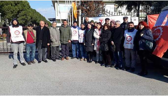 HDP'den TARİŞ işçilerine dayanışma ziyareti