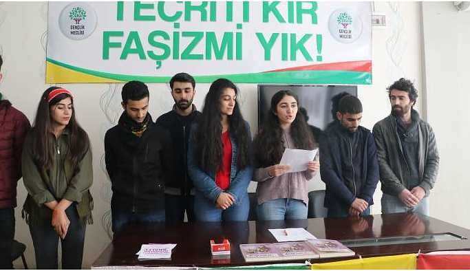 HDP Kayapınar Gençlik Meclisi kuruluşunu ilan etti