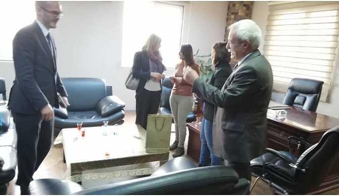 İngiliz heyet HDP'yi ziyaret etti