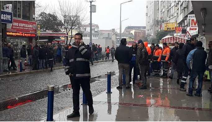 İzmir'de işçilere polis müdahalesi
