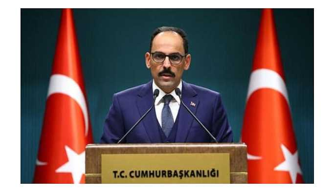 Kalın: Güvenli bölgenin kontrolü Türkiye'de olacak