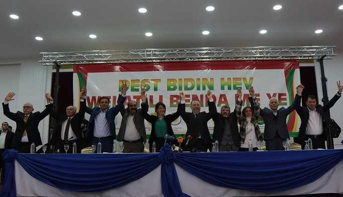 Kürt partileri ortak deklarasyonu açıkladı