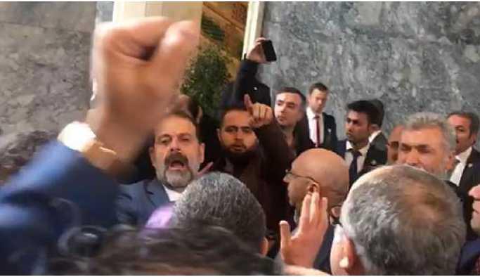 Meclis'te HDP'lilere saldırı
