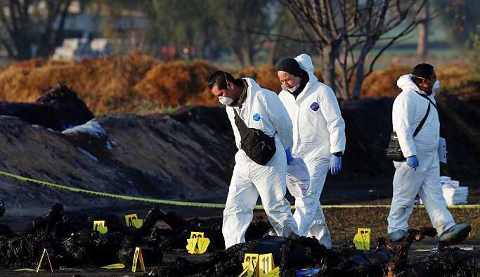 Meksika'da boru hattındaki patlamada ölü sayısı 109 oldu