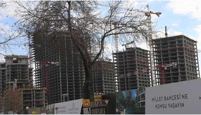 Millet Bahçesi Projesi AKP'li vekilin eşine yaradı