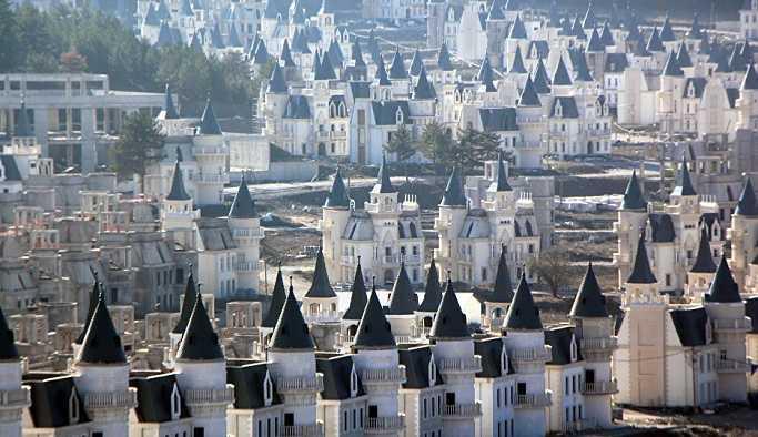 Mudurnu'daki şato tipi villalar için yeni karar