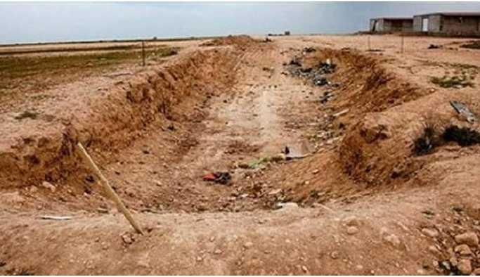Musul'da kadın mezarlığı bulundu