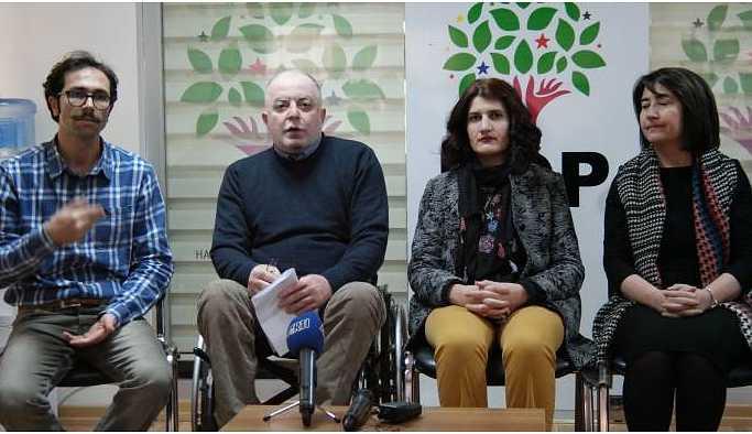 Piroğlu'ndan engellilere çağrı: HDP'de rol ve misyon üstlenin