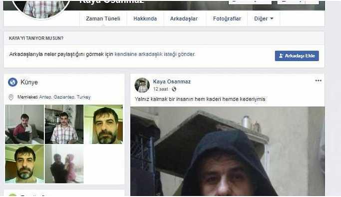 Polisin aradığı şahıs sosyal medyada