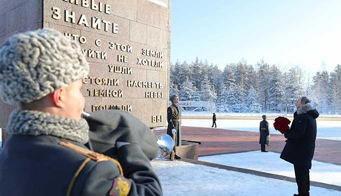Putin: Leningrad Kuşatması'nın korkunç acıları unutulmamalı