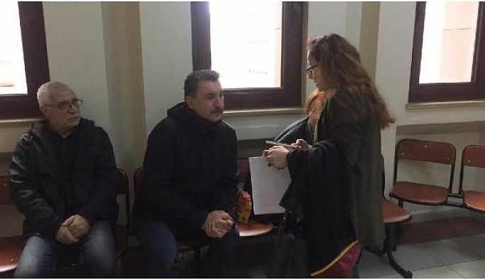Sanatçı Tunç Bakırköy Adliyesi'ne getirildi
