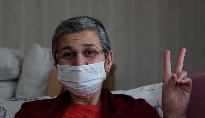 Tahliye edilen ve açlık grevi eylemini evinde sürdüren HDP'li Güven'den ilk açıklama