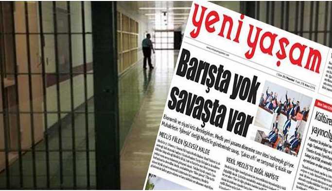 Yeni Yaşam Gazetesi'ne 'bakanlık' yasağı!